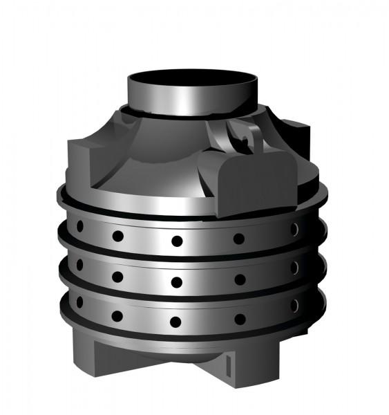 Vsakovací jímka o objemu 1000 litrů Plastová vsakovací jímka o objemu 1000 litrů.
