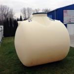 Plastová jímka Aqua 5200 litrů Plastová jímka Aqua 5200 litrů je určená na pitnou vodu.