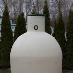 Plastová jímka Aqua 2000 litrů Plastová jímka Aqua 2000 litrů je určená na pitnou vodu.
